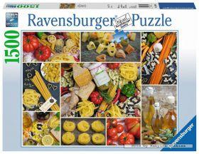 Puslespill 1500 Pasta Ravensburger