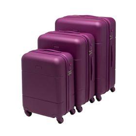 Koffertsett 7050 Beckmann 3 Purple