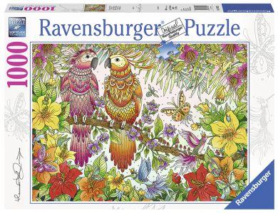 Puslespill Ravensburger 1000 Tropical Feeling