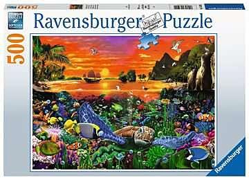 Puslespill 500 Under Vannet Ravensburger