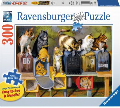 Puslespill 300 Kattene Har Fått Post Ravensburger