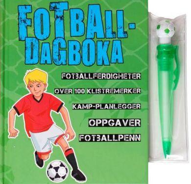 Fotballdagboka. 1 bok. 1 penn