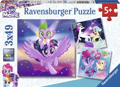 Puslespill 3X49 My Little Pony Ravensburger