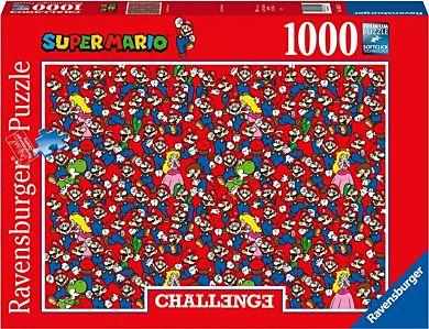 Puslespill 1000 Super Mario Utfordring Ravensburge