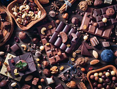 Puslespill 2000 Sjokolade Og Karameller Ravensburg
