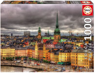 Puslespill 1000 Views Of Stockholm Educa