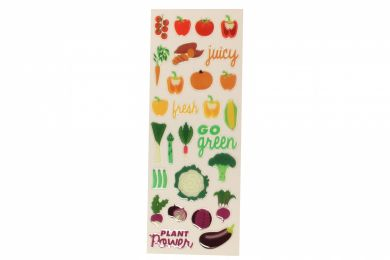 Stickers Veggies Slim
