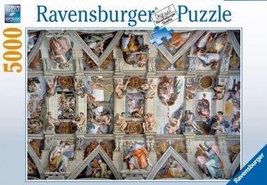 Puslespill Ravensb 5000 Sistine Chapel
