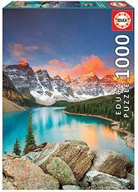 Puslespill 1000 Moraine Lake, Canada Educa