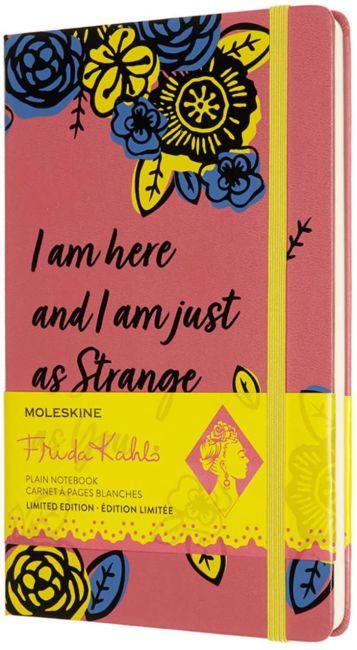 Moleskine Notatbok A5 Frida Khalo Strange Ulinj