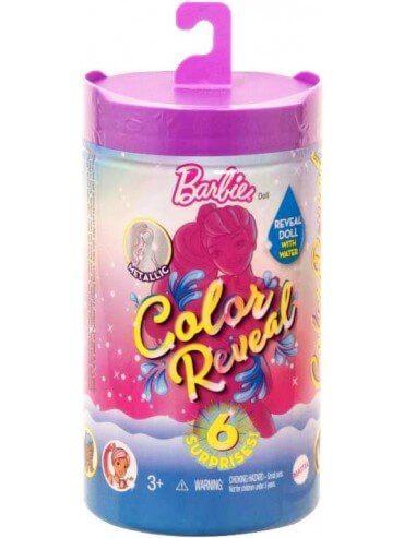 Dukke Barbie Color Reveal Shimmer