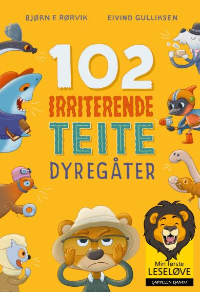 102 irriterende teite dyregåter
