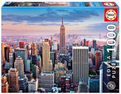 Puslespill 1000 Midtown Manhattan Educa