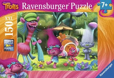 Puslespill 150 Trolls Ravensburger