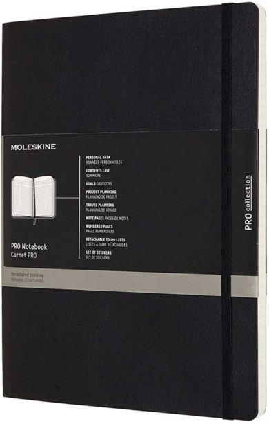 Moleskine Pro Xl Soft Black