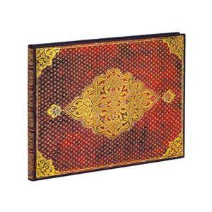 Gjestebok Paperblanks Golden Trefoil Linj