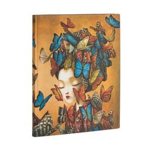 Notatbok Paperblanks Madame Butterfly Ultra Ulin