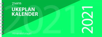 Bordkalender 2021 7.sans Ukeplankalender