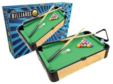 "20"" WOOD TABLETOP BILLIARDS"