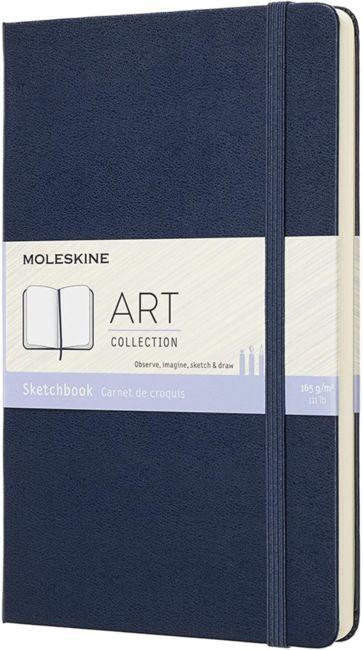 Moleskine Art Coll Sketchbook L Saph Bl