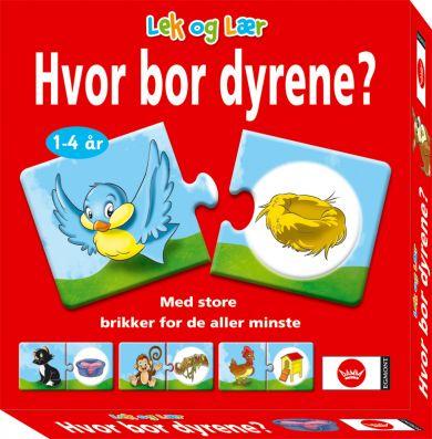 Spill Hvor Bor Dyrene