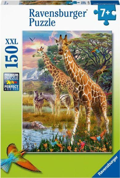 Puslespill 150 Giraffer I Afrika Ravensburger