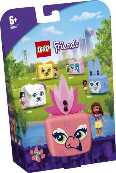 Lego Olivias flamingoboks 41662