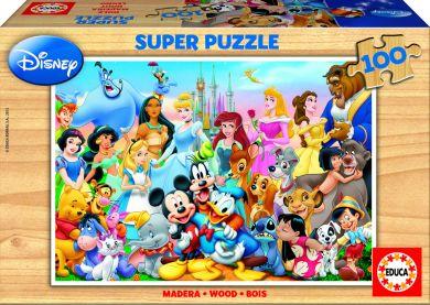 Puslespill 100 Tre Disney Educa