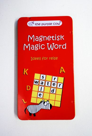 REISESPILL MAGIC WORD MAGNETISK