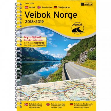Veibok Norge 1:250 000/1:500 000