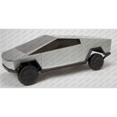 Leke Hot Wheels Rc 1:64 Tesla Cyber