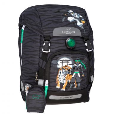 Skolesekk 1.kl Ninja Tiger 22L Beckmann