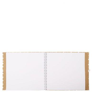 Scrapbook Polka Kraft Foil L