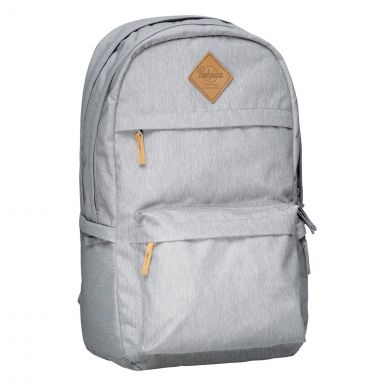 Skolesekk College Grey 34L Beckmann