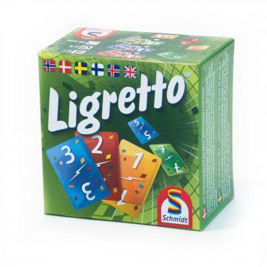 Kortspill Ligretto Grønn