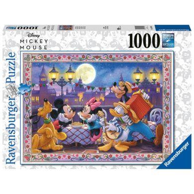 Puslespill 1000 Mikke Mus 1000 Ravensburger