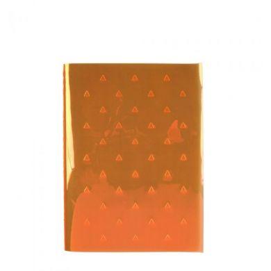 Notatbok A6 Fluro Triangles Orage