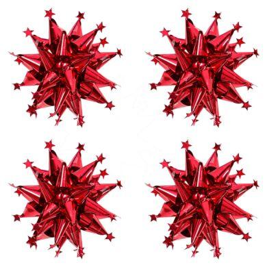 Rosetter Red Star Spikey X4