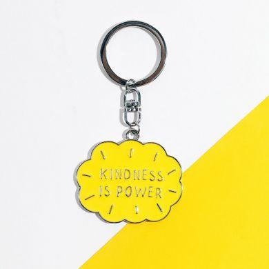 Nøkkelring  Cl Kindness Metal
