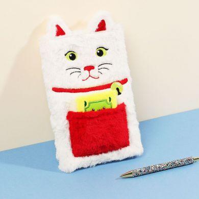 Notatbok Plush Money Cat