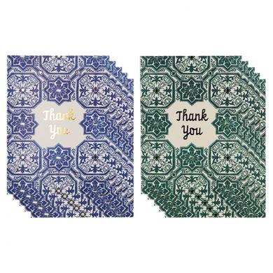 Takkekort Azul Tile Gld Foil Ty 10 Pk