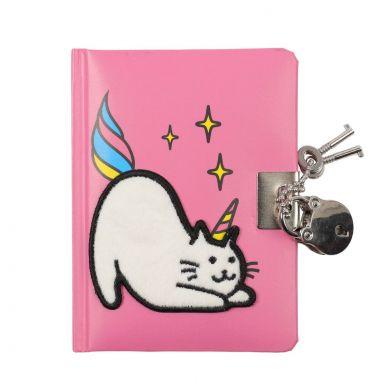 Dagbok OK A6 Unicat Lockable