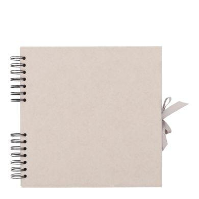 Scrapbook Kraft Grå M 26x25,5cm
