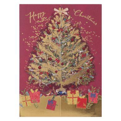 Julekort Pop Up Tree