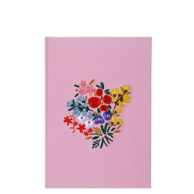 Notatbok A5 Stitched Flowers