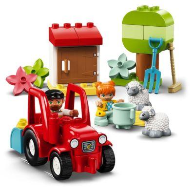 Lego Bondegård med traktor og dyr 10950