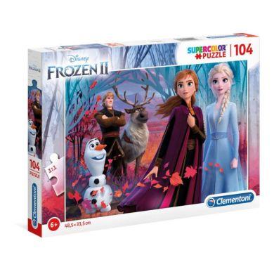 Puslespill 104 Frozen 2 Clementoni