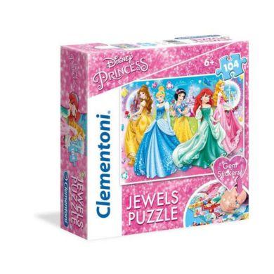 Puslespill 104 Jewel Princess Clementoni