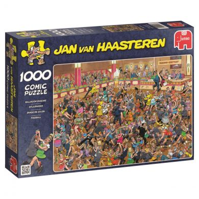 Puslespill 1000 Ballroom Dancing Jan van Haasteren