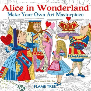 Alice in Wonderland (Art Colouring Book)